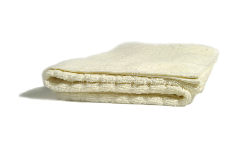 Isolated Towel royalty free stock image