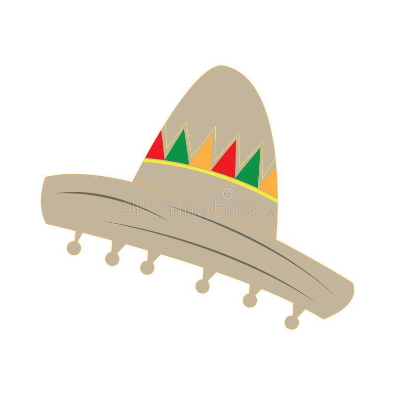 Isolated traditional mexican hat. Vector illustration design vector illustration