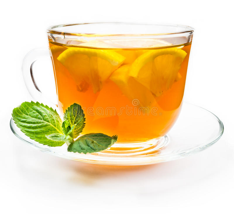 Download Isolated Transparent Cup Of Tea With Lemon Slice Stock Image - Image: 83708699
