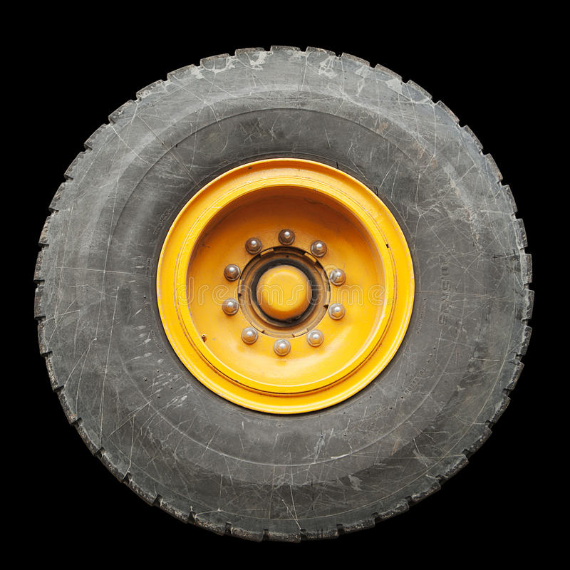 Download Isolated Truck Tire stock photo. Image of transportation - 22288950