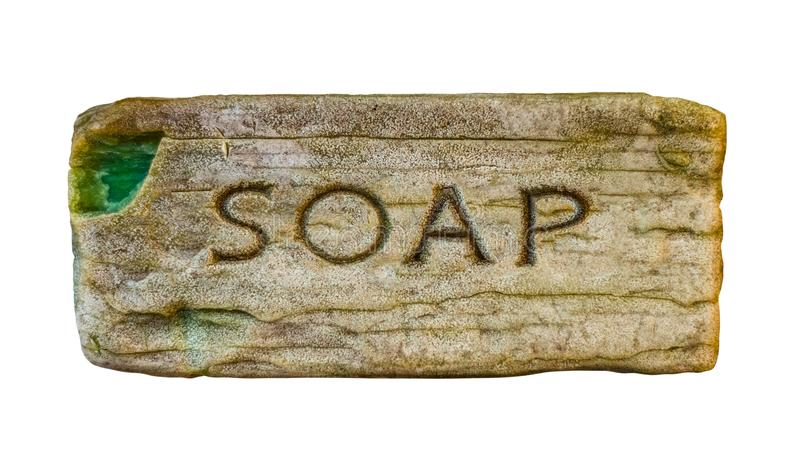 Isolated Vintage Soap royalty free stock photos