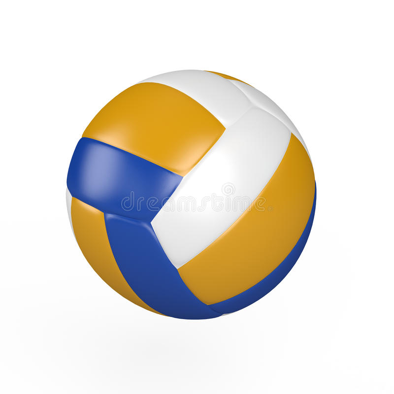 Isolated Volleyball Stock Photos