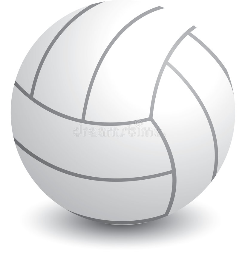 Download Isolated volleyball stock vector. Illustration of round - 8951112