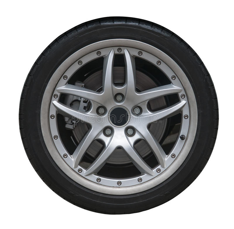 Free Isolated Wheel And Tire Stock Photo - 30563850