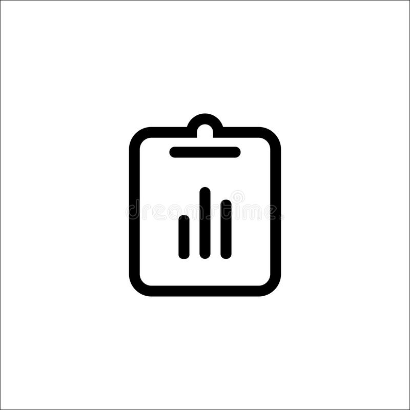 Isolated on white background. Assignment, deadline, incomplete icon image. Can also be used for material design. Suitable f. Or use on web apps, mobile apps and royalty free illustration