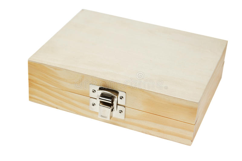 Download Isolated Wooden Box. Stock Photography - Image: 17511932