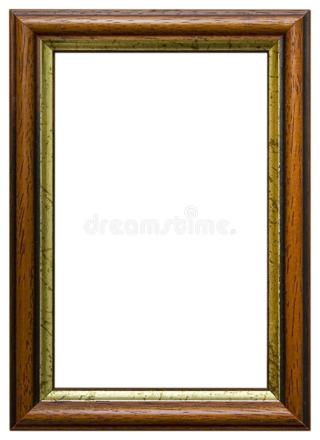 Free Isolated Wooden Frame Royalty Free Stock Photos - 688478