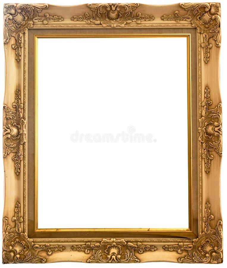 Free Isolated Wooden Photo Frame Stock Photo - 19915740