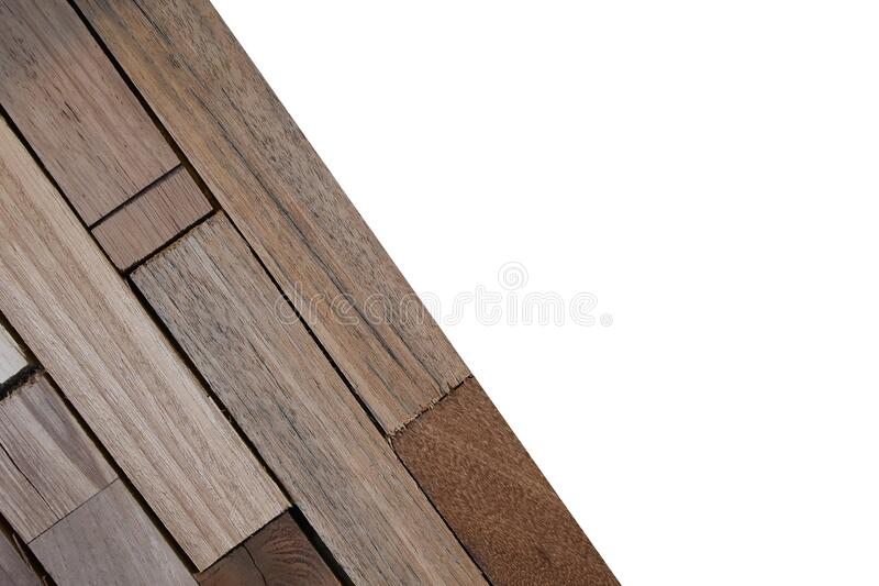 Wooden wallpeper on white background. Isolated Wooden wallpeper on white background with clipping path royalty free stock images