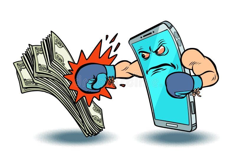 Isolaten på online-betalning för vit bakgrund segrar kassa internet f?r jordklot f?r kreditering f?r bankr?relsekortbegrepp plane royaltyfri illustrationer