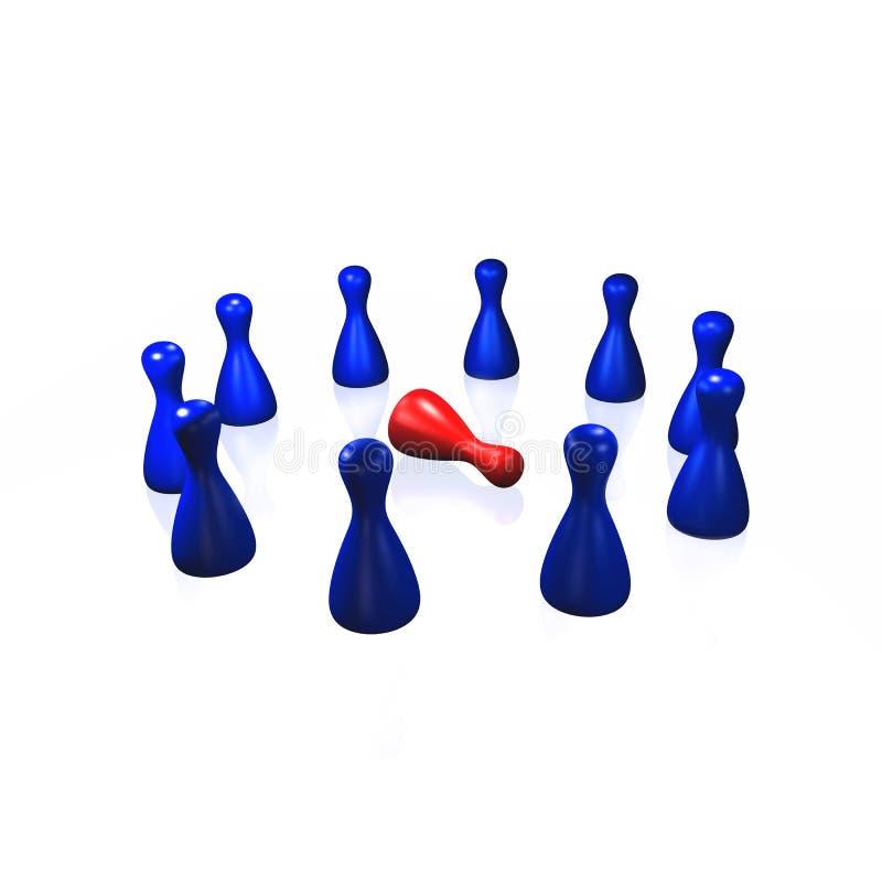 Isolatie vector illustratie