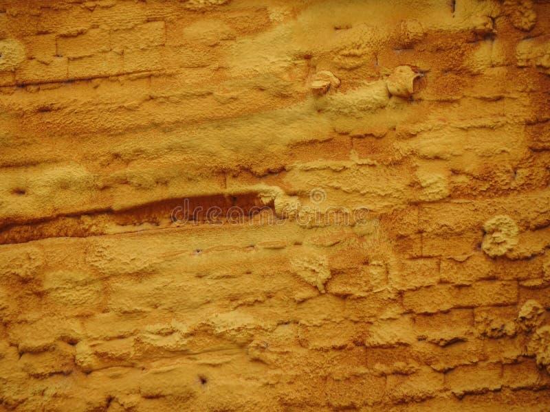 Isolation de mur avec la mousse de styrol de plastique de mousse image stock