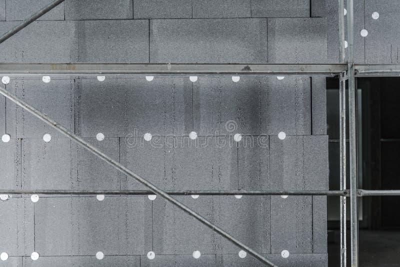 Isolation installée de graphite photo stock