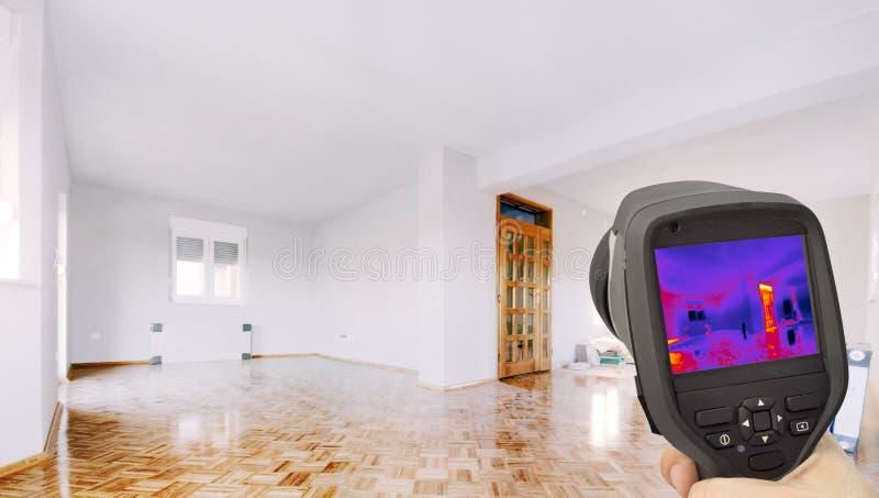 Isolation thermique de la maison photo libre de droits