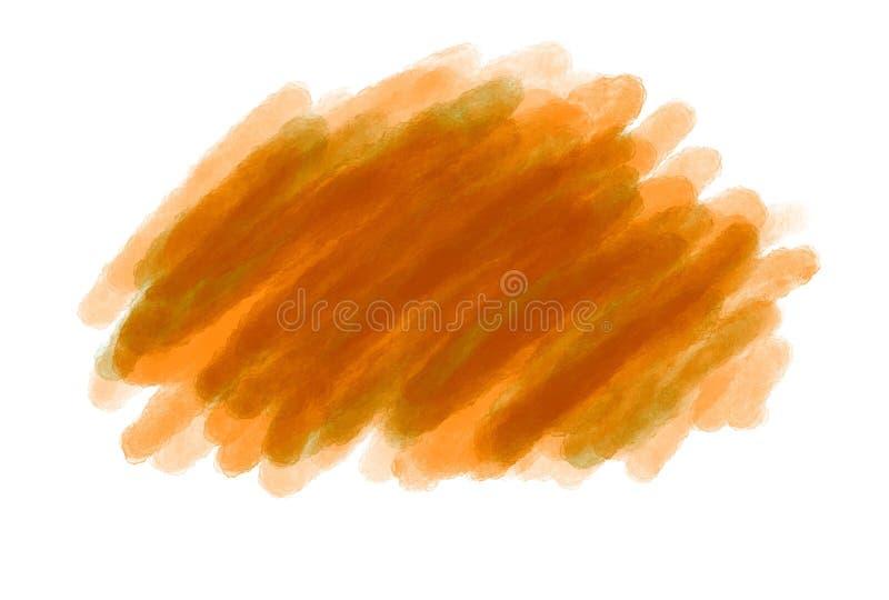 isolato astratto pastello d'annata del fondo di logo di lerciume dell'acquerello di Morbido colore con le tonalità colorate di co illustrazione vettoriale