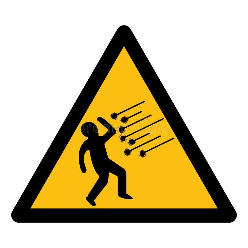 Isolato del segno di simbolo della scintilla su fondo bianco, illustrazione ENV di vettore 10 illustrazione vettoriale