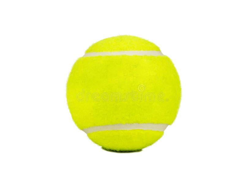 Isolato della pallina da tennis fotografia stock