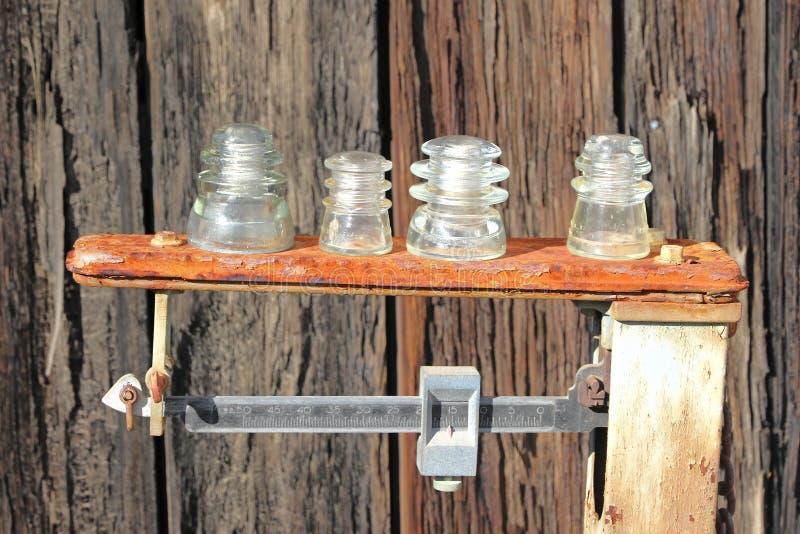 Isolatorer för belastningstypporslin royaltyfria bilder