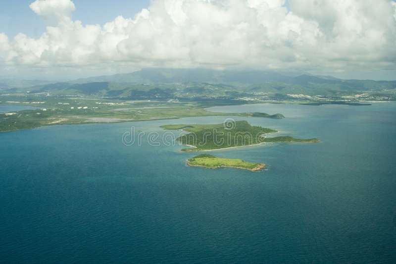 Isole aeree 1 fotografia stock