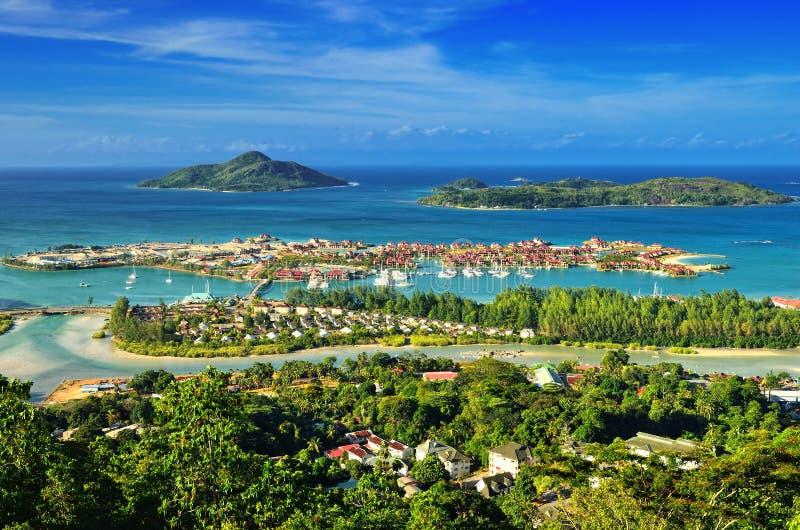 Isole delle Seychelles fotografia stock libera da diritti