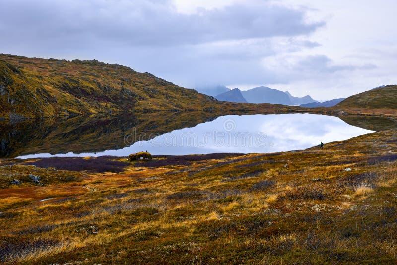 Isole di Lofoten in Norvegia immagini stock
