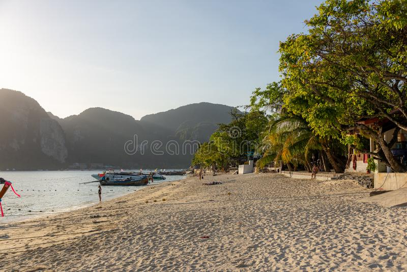 Isole di Phi Phi, Tailandia immagini stock