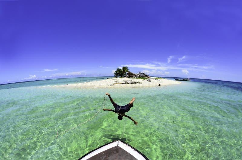 Isole di Sabah fotografia stock