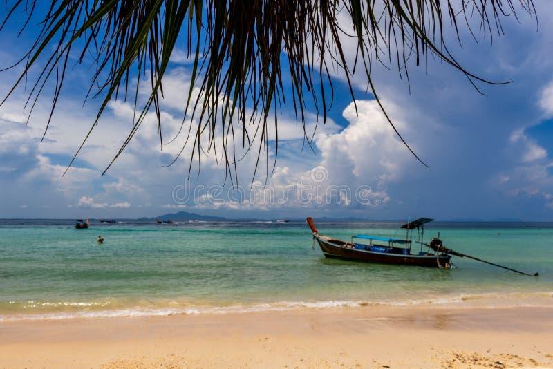 Isole di sogno di Phi Phi della spiaggia fotografia stock