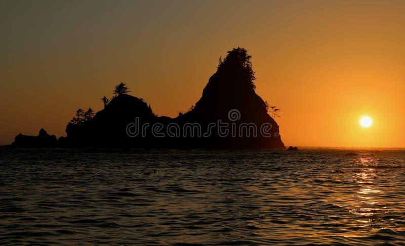 Isole dorate fotografia stock libera da diritti