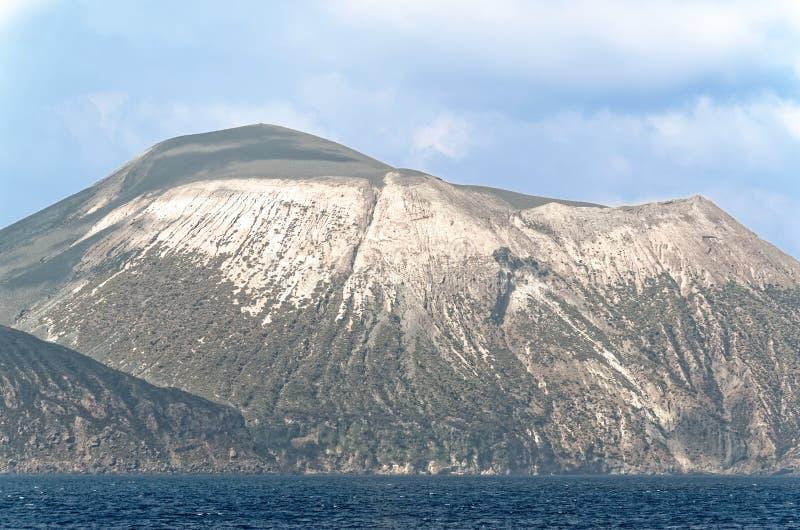 Isole eolie, isola di Lipari, Italia fotografia stock libera da diritti