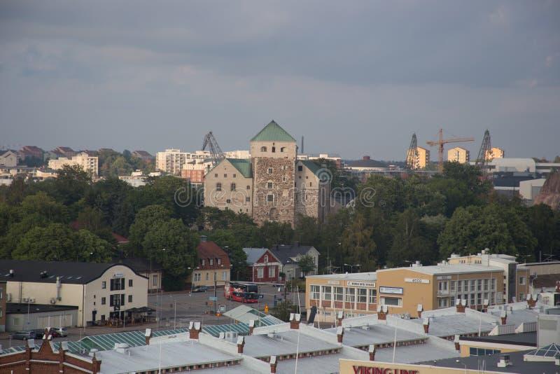 Isole finlandesi Turku avventura in Scandinavia immagine stock