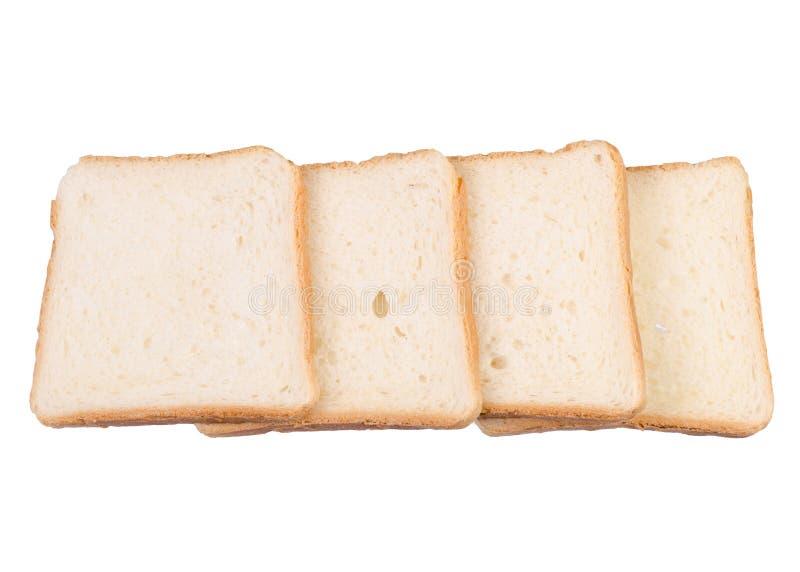 Isolement de pain grillé de pain images stock