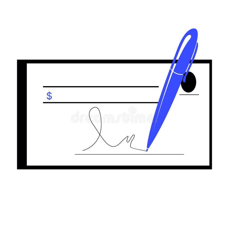 Isolerad affärssymbol stock illustrationer