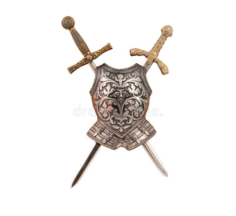 isolerad armor arkivfoto