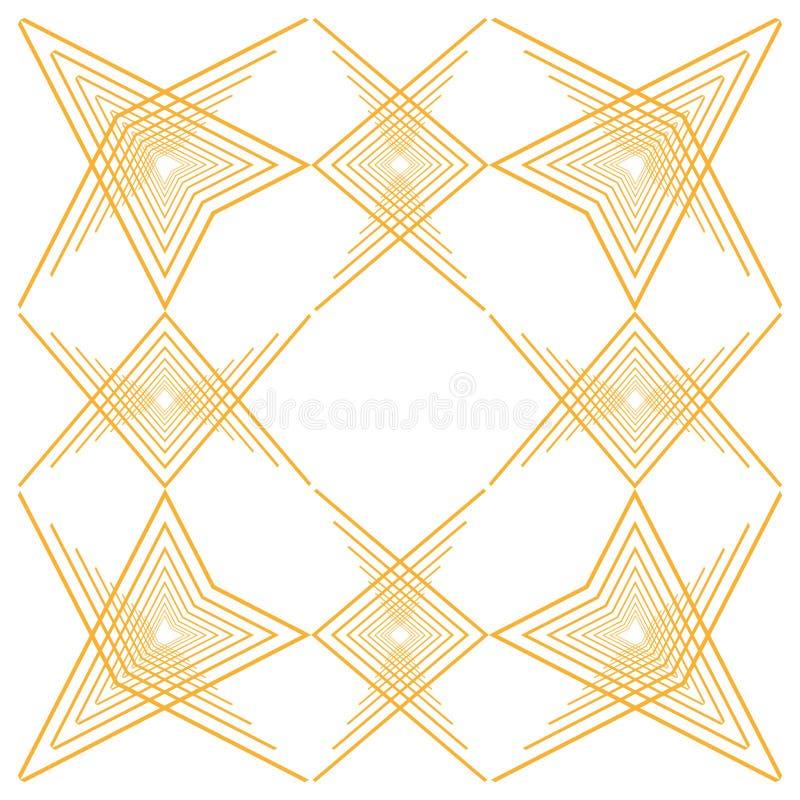 Isolerad art décobakgrundsdesign royaltyfri illustrationer