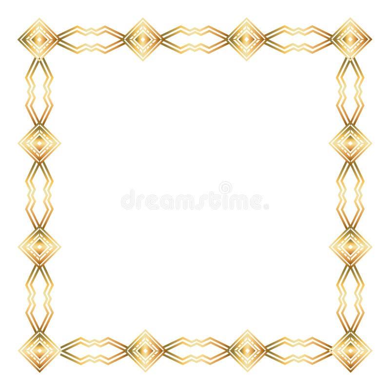 Isolerad art décoramdesign vektor illustrationer