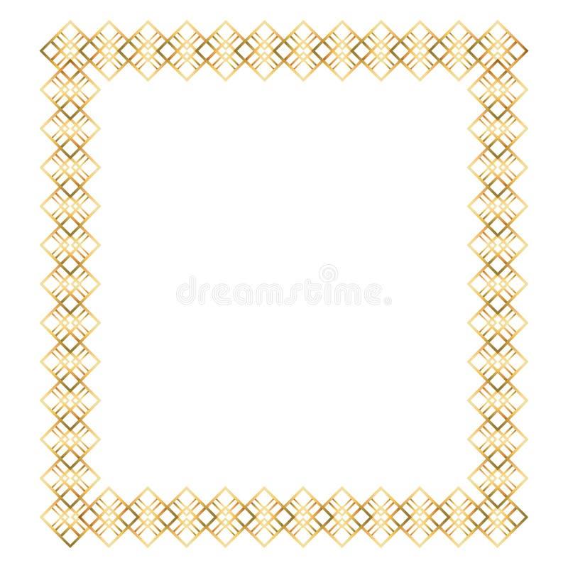 Isolerad art décoramdesign royaltyfri illustrationer