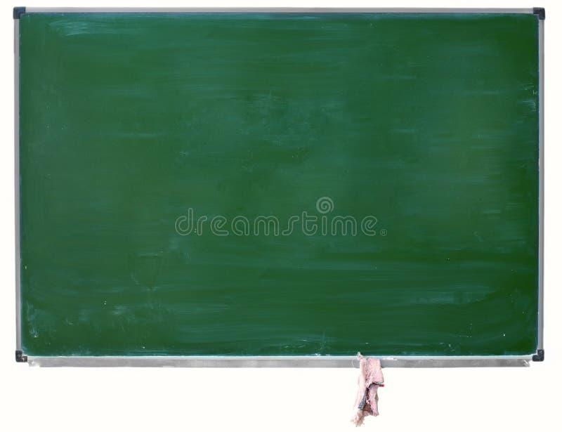 isolerad blackboardgreen arkivbild
