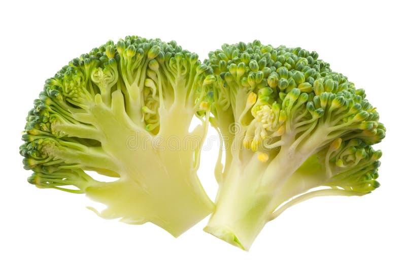 Isolerad broccoli royaltyfri bild