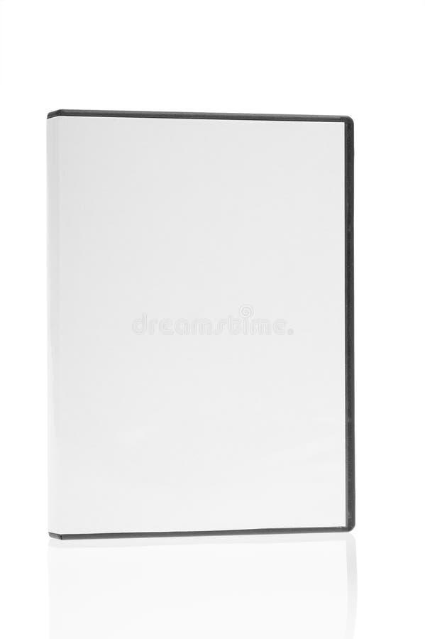 isolerad cd dvd för blankt fall arkivbilder