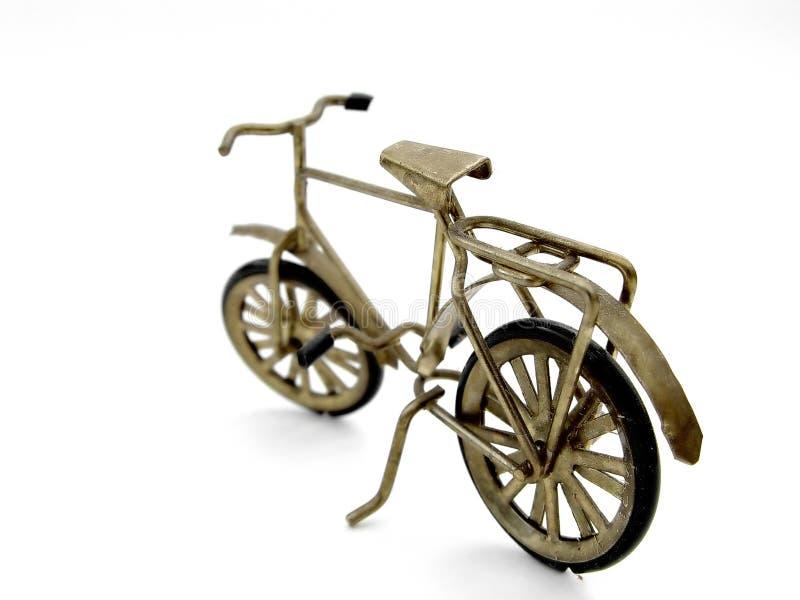 isolerad cykel arkivbilder