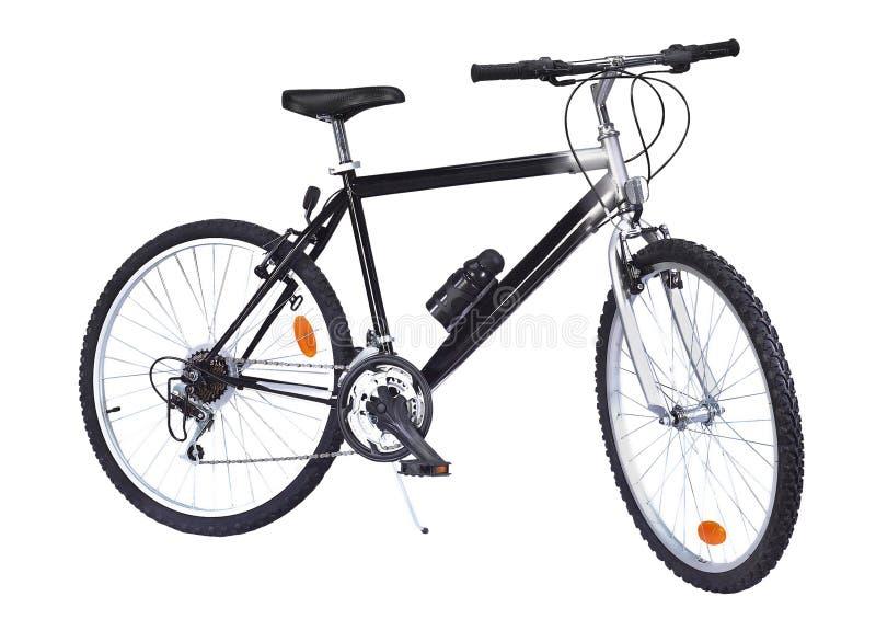 isolerad cykel arkivfoto