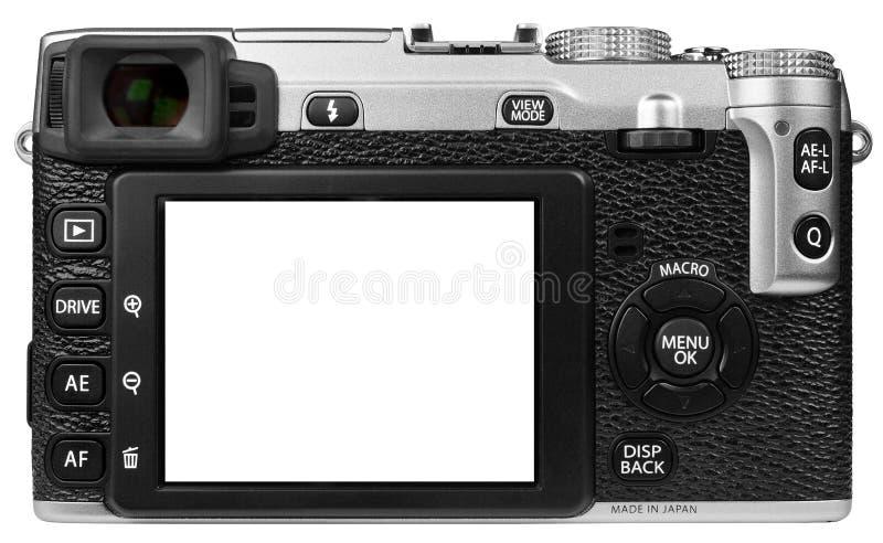 Isolerad Digital kamera royaltyfri foto