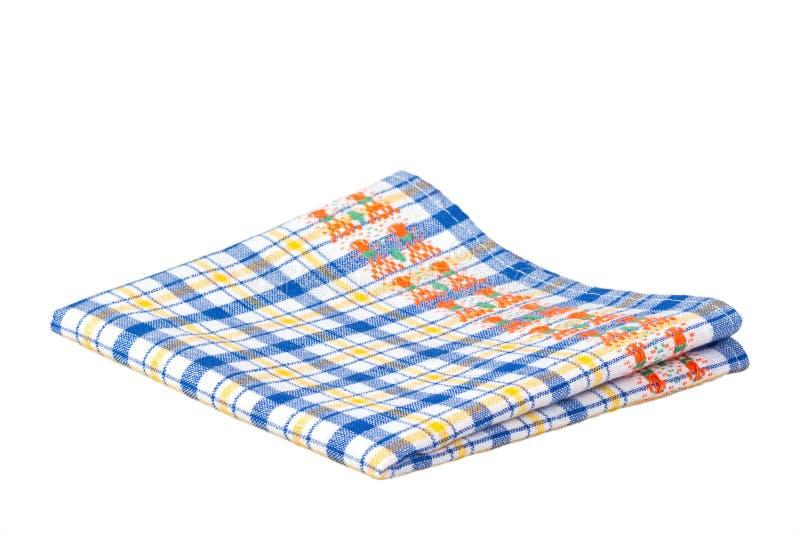 isolerad dishcloth royaltyfria foton
