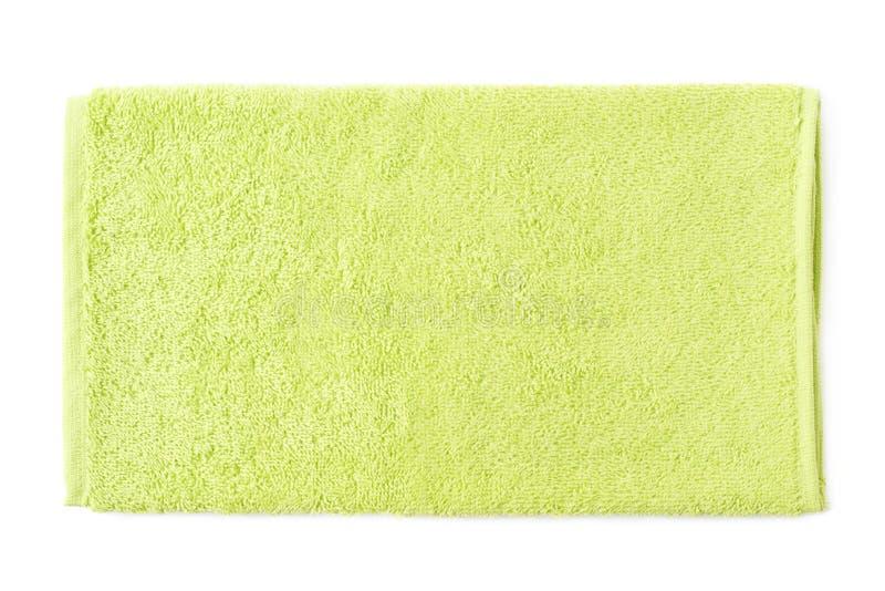Isolerad enkel handduk för frottétorkduk royaltyfria bilder
