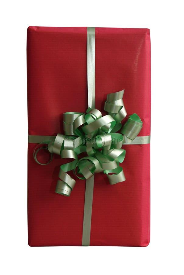 Download Isolerad giftbox arkivfoto. Bild av band, glädje, säsong - 241926