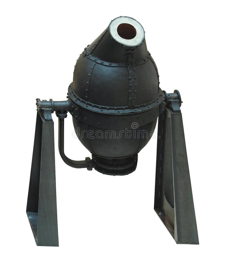 Isolerad hällande omformare för industriell stålproduktionsutrustning royaltyfria bilder