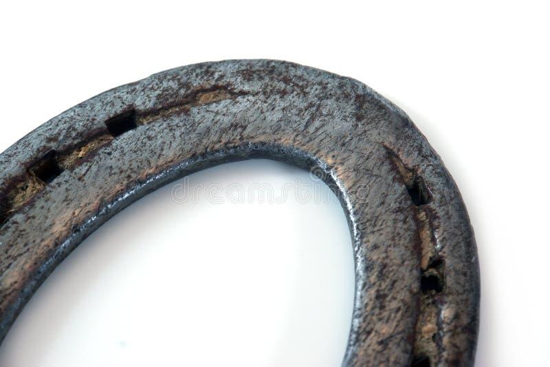 Isolerad Hästsko Arkivbilder