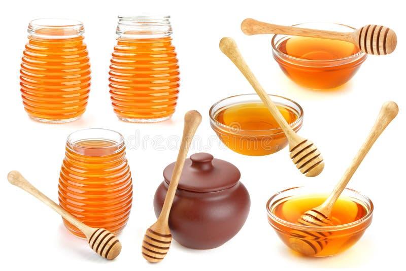 isolerad honung royaltyfri foto