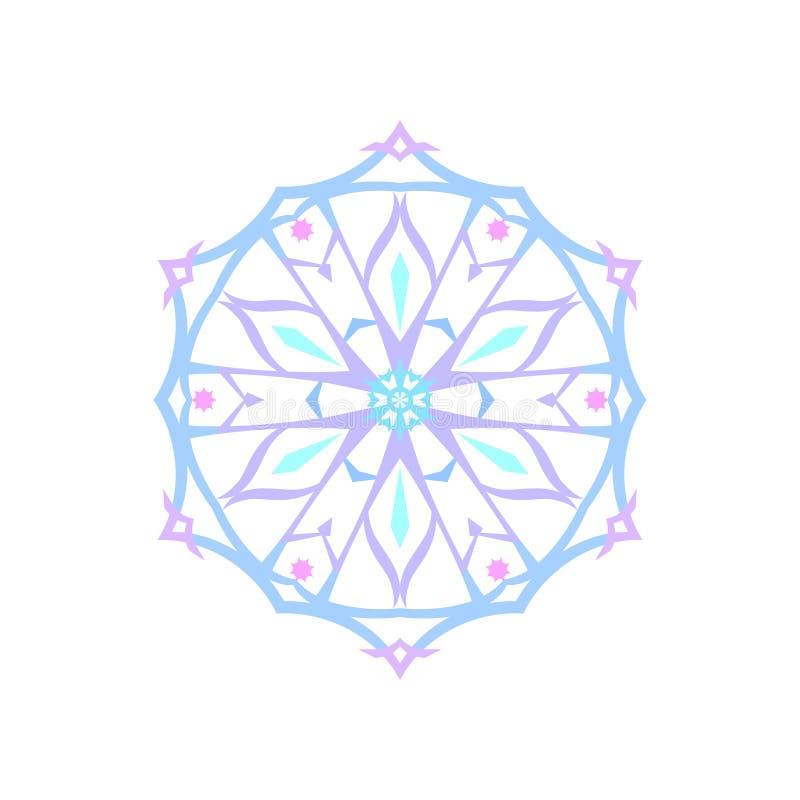 Download Isolerad Julgarneringsnöflinga Vektor Illustrationer - Illustration av geometriskt, glatt: 78727045